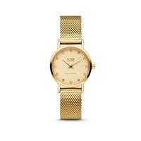 CO88 Collection Collection 8CW-10062 - Horloge - mesh band - goudkleurig - ø 24 mm