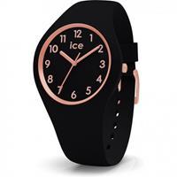 Ice-Watch horloge Lou Lou Black Rosegold Small IW014760