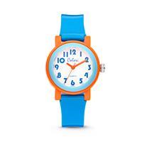 Colori Kinderhorloge Sports Time blauw-oranje 28 mm 5-CLK051