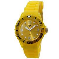 Prisma Horloge Summer Time Geel P.2960