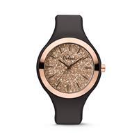 Colori Horloge Macaron siliconen zwart 44 mm 5-COL515