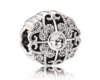 Pandora Bedel zilver ´Abstract Clear Cubic Zirconia' 791961CZ