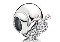 Pandora Bedel zilver Sparkling Snail 797063CZ