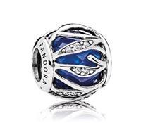 Pandora Bedel zilver Royal Blue Nature's Radiance 791969NCB