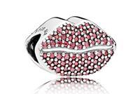 Pandora Bedel zilver Lips Kiss More 796562CZR