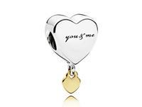 Pandora Bedel zilver-goud You and Me 796558