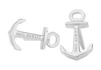 Paul Hewitt Oorbellen Nothern Delight staal Anker zilverkleurig PH-ER-ND-S