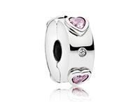 Pandora Clip-Stopper bedel zilver Explosion of Love 796591FPC