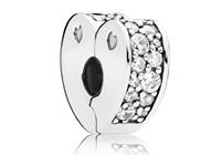 Pandora Clip-Stopper Bedel zilver Sparkling Arcs of Love 797020CZ