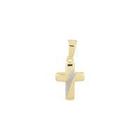 Religious Gouden hanger kruisje 19 x 9 mm 246.0140.00