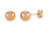 Glow Gouden Oorbellen Roségoud Bolletjes 6 mm 206.4020.06