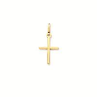Religious Gouden hanger kruisje 17.5 x 9.0 mm massief 246.0058.00