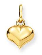 Glow Gouden Hanger/Bedel Hart 7 x 8 mm 230.0004.00