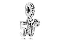Pandora Hangbedel zilver 50 Years of Love 797264CZ