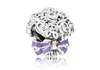 Pandora Bedel zilver Celebration Bouquet 797260NLC