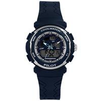 Coolwatch CW.272 Kinderhorloge Ana/Digi donkerblauw 36 mm