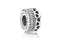 Pandora Spacer bedel zilver Hearts of Pandora 797415CZ