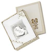 Zilverstad Spaarpot Hart met gravure 'Baby' 6297261