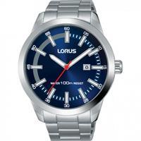 Lorus herenhorloge RH945JX9 blauwe wijzerplaat 45 mm