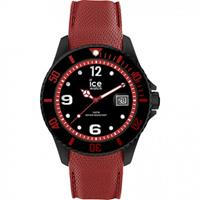 Ice-Watch horloge Ice Metal Black-Red 44 mm IW015782