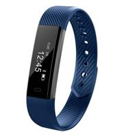 Sporty activity tracker Blauw