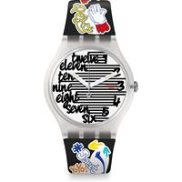 Swatch Think Fun Streety Unisexuhr in Mehrfarbig SUOW157
