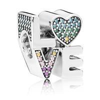 Pandora Love bedel met zirkonia 5700302660937