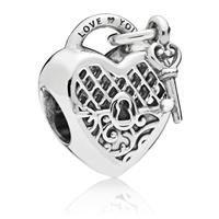 Pandora Bedel zilver Love You Lock 797655