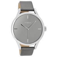 OOZOO C9143 Horloge Timepieces silvergrey 40 mm