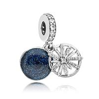 Pandora 797531CZ Hangbedel zilver Dazzling Wishes