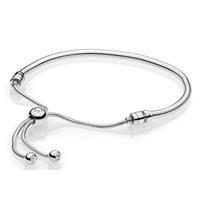 Pandora 597125CZ-2 Armband Moments Silver Sliding 28 cm