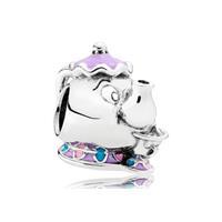 Pandora Disney Bedel zilver Mrs. Pott en Chip 792141ENMX
