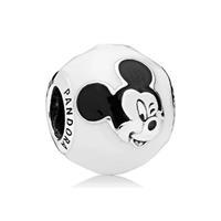 Pandora Disney Bedel zilver Vrolijke Mickey 796339ENMX