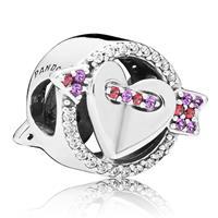 Pandora 797827CZMX Bedel zilver Hearts of Love