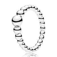 Pandora 197536 Ring zilver String of Beads Maat 52