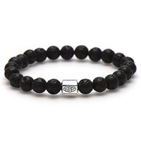 Karma 86569 Armband The Rock Silver Bead 20 cm