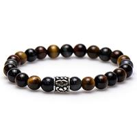 Karma 86561 Armband The Tiger silver Bead 20 cm