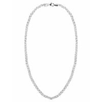 First Choice FirstChoice PAL03 Ketting zilver Palmier 3,0 mm breed 15,6 gram 45 cm lang
