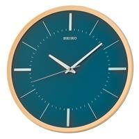 Seiko QXA731Y Wandklok Quartz blauw-groen 31,2 cm