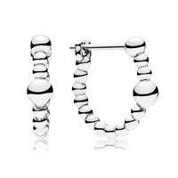 Pandora 297532 Oorbellen zilver String of Beads