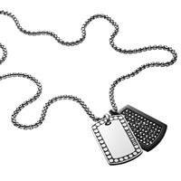 Diesel DX1169040 Double Dogtags Herencollier