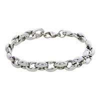 IXXXI B0024699003 Armband Helsinki staal zilverkleurig 18-20 cm