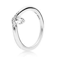 Pandora 197790CZ Ring zilver Classic Wish Maat 56
