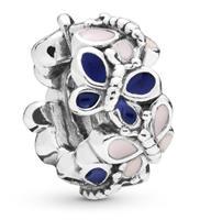 Pandora 797870ENMX Bedel spacer zilver Butterfly Arrangement