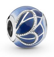Pandora 797886ENMX Bedel zilver Blue Butterfly Wing