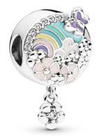 Pandora 797999ENMX Bedel zilver Flower Colour Story