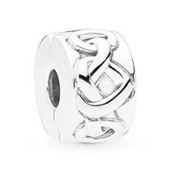 Pandora 798035 Clip-Stopper Bedel zilver Knotted Hearts