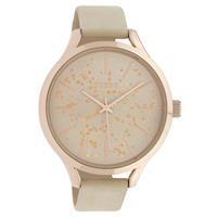 Oozoo Timepieces ecru horloge C10086