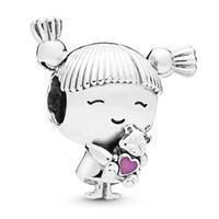 Pandora 798016EN160 Bedel zilver Girl with pigtails