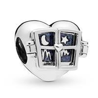 Pandora 798006EN63 Bedel zilver Window Heart